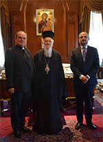 Beim Ökumenischen Patriarchen Bartholomaios I.