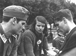 """Zum Gedenken an die Widerstandsgruppe """"Weiße Rose"""""""