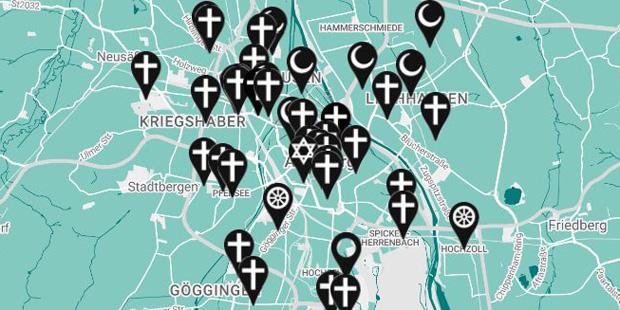Religionsatlas Augsburg