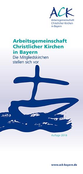Neuauflage der Mitgliederbroschüre der ACK in Bayern erschienen