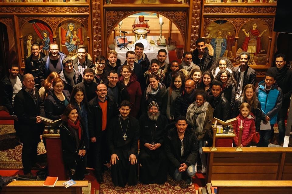 Treffen der Jungen ACK in Bayern in der Münchner koptisch-orthodoxen Gemeinde